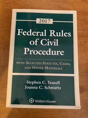 Federal Rules Of Civil Procedure for Sale in Riverside, CA