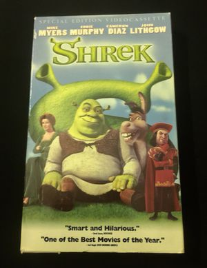 Shrek Special Edition VHS for Sale in Winter Park, FL