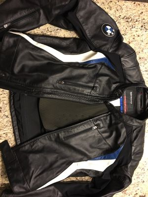 BMW DoubleR Motorcycle Leather Jacket for Sale in Englewood, CO