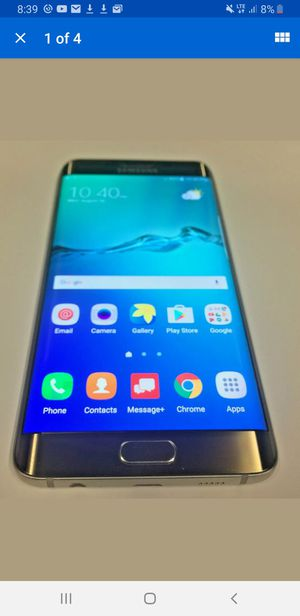 Gold Samsung S6 plus **Unlocked** for Sale in Fort Lauderdale, FL