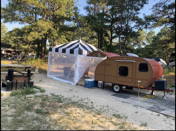 Homemade Teardrop camper