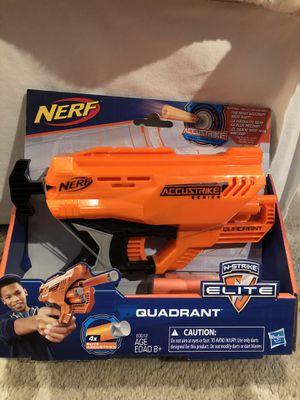 Nerf Accustrike Elite Quadrant x4 for Sale in Mason, OH