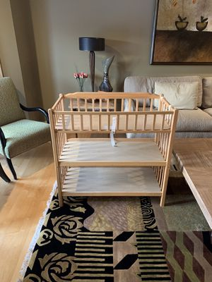 Wooden Changing Table for Sale in Buffalo, NY