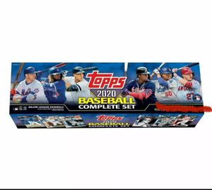 Topps 2020 Baseball complete set of 700 cards. for Sale in Denver, CO