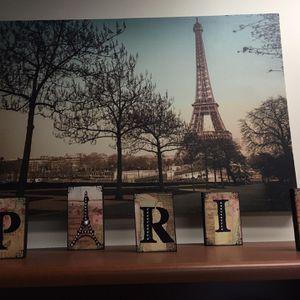 PARIS Picture & Match Paris Fancy Letters for Sale in Port St. Lucie, FL