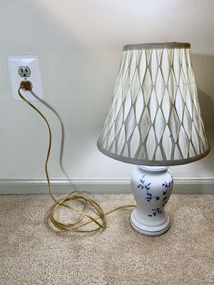 Antique Floral Ceramic Table Lamp for Sale in Alexandria, VA