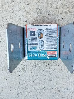 Brand New Post Base Zmax Abu44Z - $15/each Or $50/for 4 for Sale in Mount Hamilton,  CA
