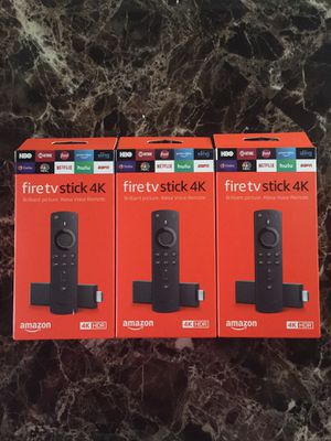 4K Fire tv stick unlocked for Sale in Eustis, FL