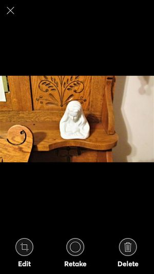 PORCELAIN BUST OF MARY for Sale in Lynchburg, VA