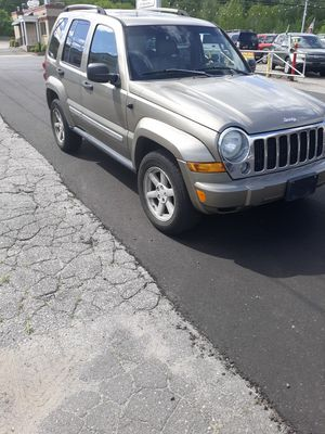 2005 jeep liberty 4x4 for Sale in Watertown, CT
