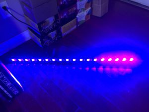 UV black light 18leds for church birthday wedding party stage lighting for Sale in La Verne, CA