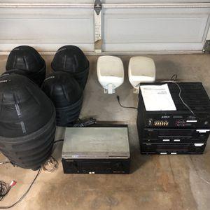 Stereo Equipment From Restaurant for Sale in Scottsdale, AZ