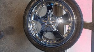 Diablo rims size 225 40 18 fits some mercedes honda and dodge for Sale in US
