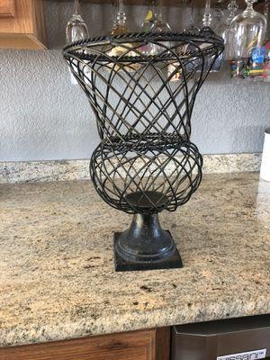 Metal vase POMS for Sale in Elk River, MN