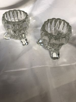 Candle holder set of 2 for $5 for Sale in Rancho Cucamonga, CA