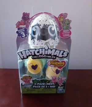 Hatchimals Collegtibles 2 Pc Set Season 3 for Sale in Ansonia, CT