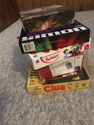 4 Board games - 1 Disney Aladdin puzzle for Sale in Wichita, KS