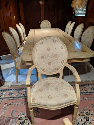 Dining Table with 12 chairs must go for Sale in Teaneck, NJ