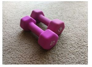 5LB paired dumbbell for Sale in Columbia City, IN