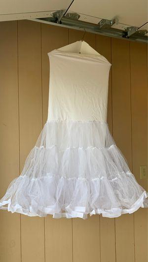 Wedding dress/Mermaid under petticoat for Sale in Leander, TX