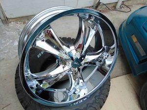 "Brand New Chrome 23X9 Milanni ""BITCHIN"" Rims*6X135*FORD* *5X5.5*DODGE* for Sale in Aurora, CO"