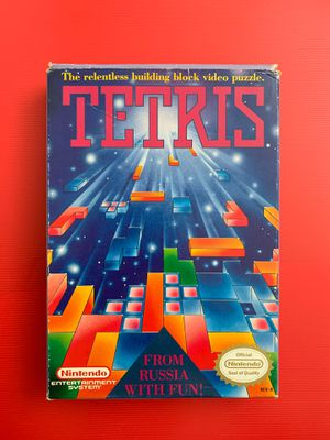 TETRIS Original NES video game 1985 (untested) for Sale in Worthington, OH