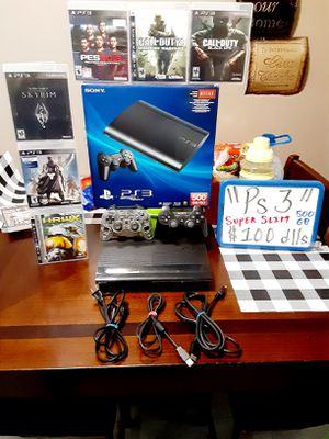 Ps3 super slim 500gb for Sale in San Diego, CA
