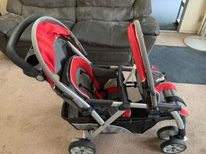 Chicco Double Stroller for Sale in Waianae, HI