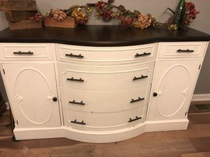Antique buffet cabinet for Sale in Valley City, OH