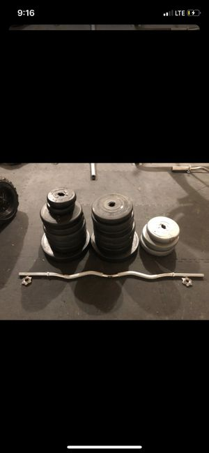 Standard weights set for Sale in Puyallup, WA
