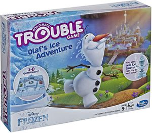 Trouble Disney Frozen Olaf's Ice Adventure Game for Kids Ages 5 and Up for Sale in Bonita Springs, FL