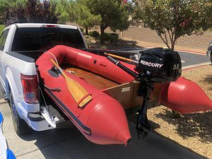 Avon Rover R3-10 Inflatable Boat Only Motor Sold for Sale in Las Vegas, NV