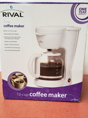 Rival 12 cup coffee maker for Sale in Casselberry, FL