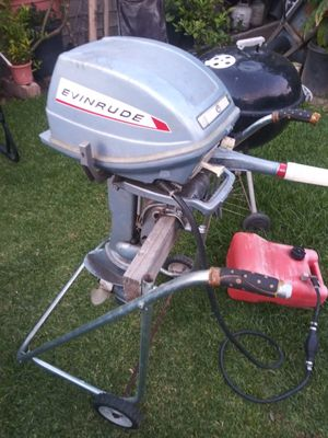 6hp outboard boat motor for Sale in Baldwin Park, CA