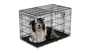 """NIB. Vibrant Life Double-Door Folding Dog Crate with Divider, 42""""L for Sale in Georgetown, TX"""