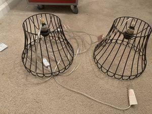 Black hanging lamps for Sale in Burlington, NC