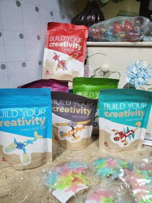 Creative building Kits under glow in the dark stars for Sale in Land O Lakes, FL