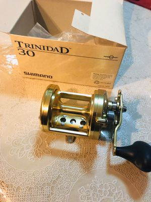 Shimano Trinidad tn 30 brand new in box $380 for Sale in Westminster, CA