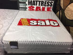 PILLOW TOP MATTRESS AND BOX SPRING for Sale in Posen, IL