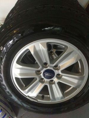 2018 Ford f 150 rims y tires for Sale in Orlando, FL