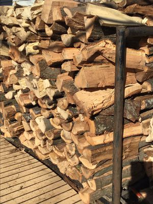 Mixed seasoned firewood with free delivery for Sale in Tulsa, OK