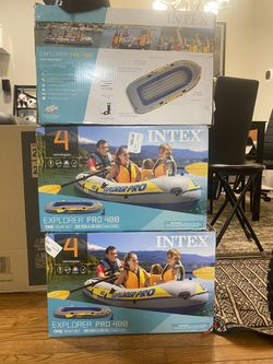 Inflatable Boat 🚣‍♀️ Raft Four Person for Sale in Springfield,  VA