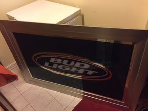 Bud Light Sign for Sale in MONTGOMRY VLG, MD