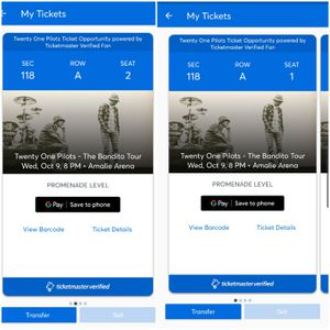 TOP TICKETS TOMORROW NIGHT AMALIE ARENA for Sale in St. Petersburg, FL