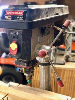 Craftsman Laser Trac Drill Press for Sale in Marion, MI