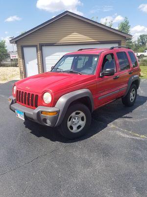 2002 Jeep Liberty $1500 OBO for Sale in MERRIONETT PK, IL