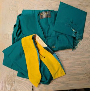 GMU Graduation Gown for Bachelor or Master of Science for Sale in Chantilly, VA