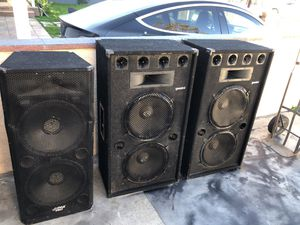 Concert 🎵 or DJ concert speakers 50$ right now for Sale in Los Angeles, CA