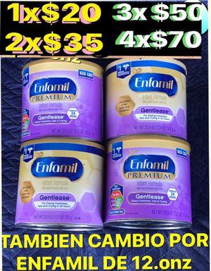 ENFAMIL GENTLEASE BOTES GRANDES DE 21.onz a $20 cada uno o cambio por 2 ENFAMIL DE cualquier otro tipo de de 12.onz for Sale in Anaheim, CA