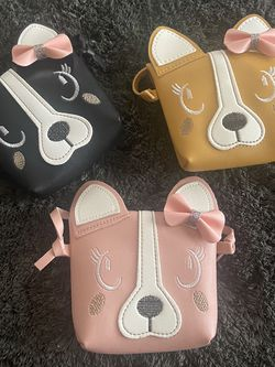 Dog Purse With Bow For Girls for Sale in Harvey,  LA